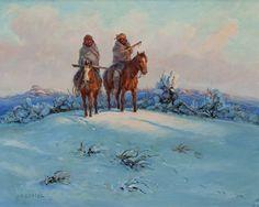 Joe Beeler Paintings for Sale : Native American Artist : Cowboy Artists of America