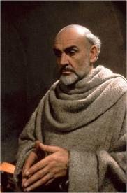 """Sean Connery ....(1986)En nombre de la rosa ,libro fascinante de Umberto Eco....igualmente maravillosos """" Tratado de la belleza """" y """" Tratado de la fealdad """""""
