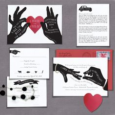 A Printable Press can give you amazing AND affordable wedding invitations! | Offbeat Bride #Wedding #Invitations