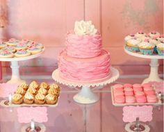 Engagement Party Dessert Display
