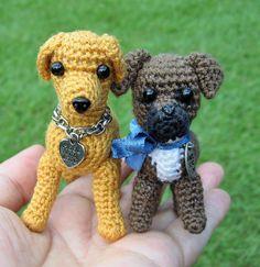Amigurumi puppies