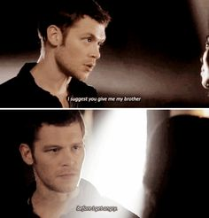 "#TheOriginals 2x06 ""Wheel Inside the Wheel"" - Klaus"