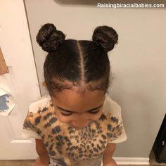 These cute protective hairstyles for biracial hair are great for keeping moisture in your mixed girl's hair. Little Mixed Girl Hairstyles, Mixed Race Hairstyles, Baby Girl Hairstyles, Kids Braided Hairstyles, Protective Hairstyles, Easy Hairstyle, Braided Updo, Prom Hairstyles, Natural Hairstyles