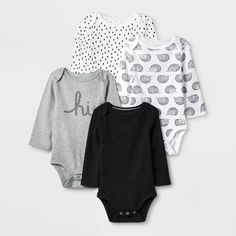 Cloud Island, Gender Neutral Baby Clothes, Unisex Baby Clothes, Tutus For Girls, Long Sleeve Bodysuit, Outfit Sets, Fitness Fashion, Kids Outfits, Baby Outfits