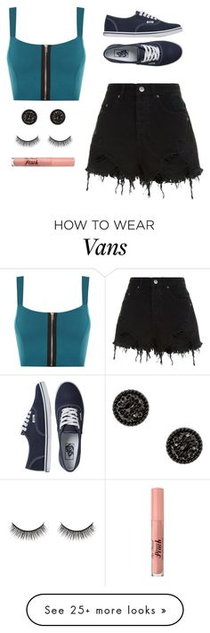 """""""Untitled #1402"""" by mkk-18 on Polyvore featuring WearAll, Ksubi, Vans, Battington and Too Faced Cosmetics"""