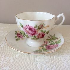 Queen Anne Bone China, Vintage Trio, Vintage Cup and Saucer, Vintage Tea Cup, Vintage Cup and Saucer, Vintage Tea Party, Bone China, English https://www.etsy.com/uk/listing/518941422/queen-anne-bone-china-vintage-trio