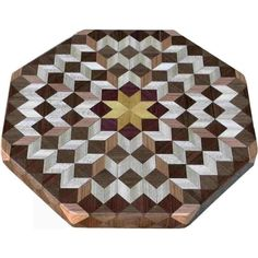 Small Carpenters Wheel Lazy Susan by woodmosaics on Etsy Wood Patterns, Quilt Patterns, Wood Projects, Woodworking Projects, Into The Woods, Lazy Susan, Barn Quilts, Wood Turning, Types Of Wood