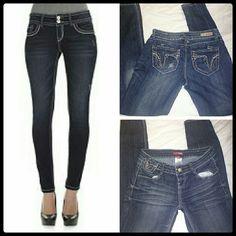 Bongo Skinny Jeans sz 1 Euc, Skinny Jeans by bongo BONGO Jeans Skinny