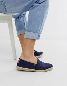 Buy Superdry Adam espadrille shoes in navy at ASOS. Get the latest trends with ASOS now. Espadrille Shoes, Espadrilles, Asos Men, Superdry, Fashion Online, Navy, Summer, Shopping, Espadrilles Outfit