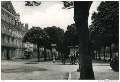 OLD REAL PHOTO GRAND HOTEL MODERNE CHATELLERAULT Vienne FRANCE POSTAL CARTE POSTALE VOITURE