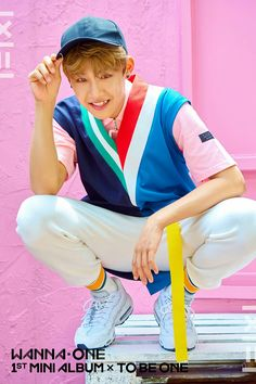 Park Woojin | Wanna One 1st Mini Album - To Be One