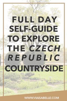 You've heard of Prague and Vienna. But what about the little towns in between? Join me as I tell you all about the quirky little towns at the Czech Republic and my road trip experience in one of the most scenic countrysides I've ever been to!