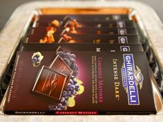 Escape with Ghirardelli Intense Dark. Ghirardelli Chocolate is made by members of BCTGM Local 125!