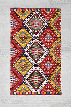 Magical Thinking Ankara Diamond Rug - Urban Outfitters - 3x5 (for kitchen)