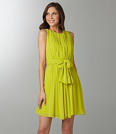 Not sure what you guys think of the color but I like the dress.