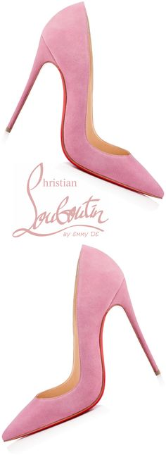 Christian Louboutin: pink for a day when a girl just needs to feel pretty! Christian Louboutin: pink for a day when a girl just needs to feel pretty! Hot Shoes, Crazy Shoes, Women's Shoes, Shoe Boots, Fall Shoes, Platform Shoes, Black Shoes, Pink Shoes, Summer Shoes
