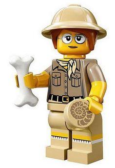 LEGO Minifigures Series 13 Paleontologist Construction Toy LEGO