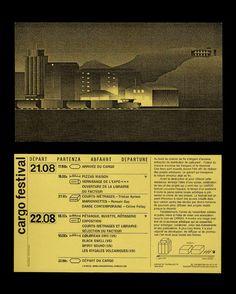 """larentadora: """" IDENTITY — Flyer en collaboration avec Remy Bender http://remybender.tumblr.com """""""