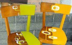 Decorare una sedia vecchia - Sapore retrò