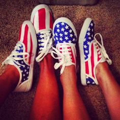America Shoes DIY