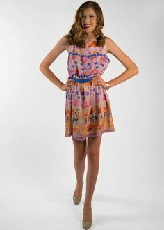 37056274c9c92d This printed floral dress is a comfy addition to any wardrobe. Pretty Young  Style · Brand Love  Ted Baker