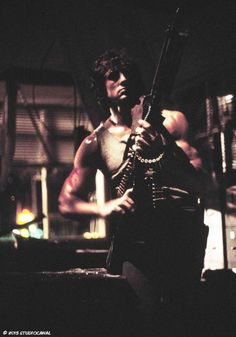 First Blood - Publicity still of Sylvester Stallone Sylvester Stallone Rambo, Stallone Rocky, Silvester Stallone, John Rambo, Demolition Man, Film Story, First Blood, Rocky Balboa, The Expendables