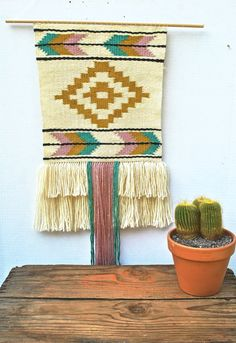 Highland Weaving // Woven Tapestry // by wildcolumbinetextile, $200.00
