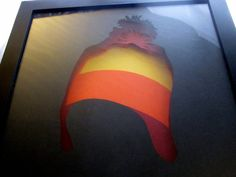 Firefly shadow box, Jayne, layered papercut, pretty cunning hat, limited edition