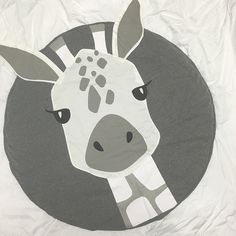 Adorable Kids Décor Great for nursery or playroom Super soft & comfy Gorgeous mix of neutral tones Timeless design Perfectly padded for squishy little bums Made of cotton with soft polyester filling Approx. Baby Baby, Giraffe Room, Cotton Mats, Crawling Baby, Baby Quilt Patterns, Baby Nursery Decor, Animal Design, Baby Quilts, Kids Playing