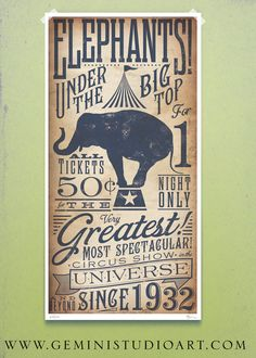 I have other artwork by this artist and it is seriously amazing. If I ever did a circus theme room, this would go in it. $25.00