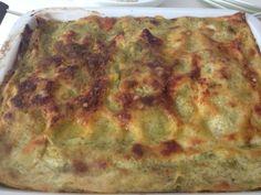 Armonia di Mandorle: Lasagne al pesto - Lasagna with basil pesto