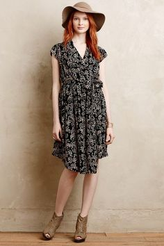 Noronha Wrap Dress - anthropologie.com *great dress, not crazy about accessories*