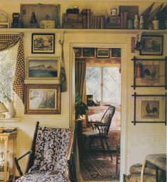 Hydrangea Hill Cottage - Anthony Little's English hideaway.....Osborne and Little