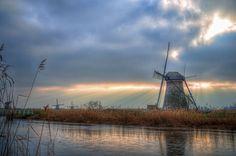 Kinderdijk III by Watze D. de Haan