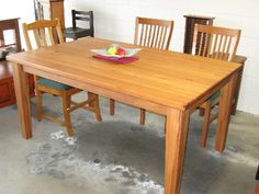 recycled rimu dining tables