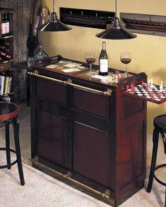 """Produktfoto: Bar/Theke :: """"Casablanca Bar"""" mit Tresen und Spielbrettern"""