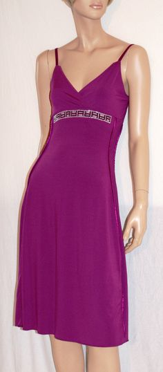 Let's Party! Wonderful Stretched Sleeveless Purple Dress Branded WIT GIRL…