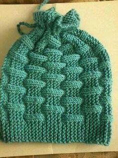 Tuğla Desenli Kolay Bere Yapımı. 4 .5 yaş » By hatice2 Crochet Quilt, Crochet Cap, Baby Knitting Patterns, Knitting Stitches, Crochet Hooded Scarf, Slouchy Hat, Baby Vest, How To Purl Knit, Beanie Hats