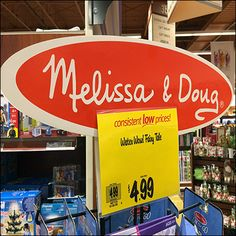 Expanding offerings in a new direction this Melissa-&-Doug Book Merchandising Tower Spinner stands tall with offerings of markers, coloring books, and
