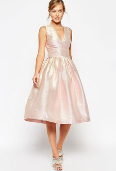 """Brides.com: 51 Rehearsal Dinner Dresses for Every Bride's Budget  """"Modena"""" lace dress, $398, Nanette Lepore available at AnthropologiePhoto: Courtesy of Anthropologie"""