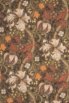 William Morris Textile. #morris #design