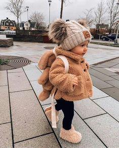 Winter Baby Clothes, Winter Outfits For Girls, Baby Girl Winter, Cute Baby Girl Outfits, Cute Baby Clothes, Toddler Outfits, Children Outfits, Baby Clothes For Girls, Fall Baby Outfits