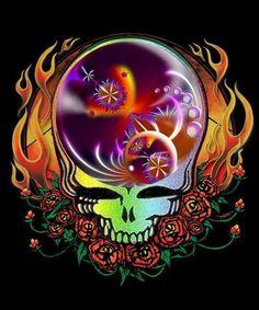 Grateful Dead Tattoo, Grateful Dead Shows, Grateful Dead Skull, Grateful Dead Image, Grateful Dead Poster, Grateful Dead Wallpaper, Crane, Rock And Roll Bands, Forever Grateful