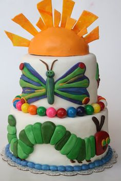 And Everything Sweet: The Very Hungry Caterpillar Cake