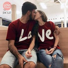 Cute Couple Shirts, Couple Tees, Matching Couple Outfits, Matching Couples, Cute Couples, Couple Clothes, Couple Style, Couple Goals, Cute Relationship Goals