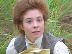 """Megan Fellows as Anne of Green Gables """"I can imagine a lot of things but I can imagine away my red hair!"""