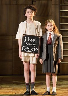 Cristina Fray in Matilda the Musical West End