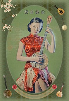 by Eugenio Recuenco || Perfect retro chinese ad stylization