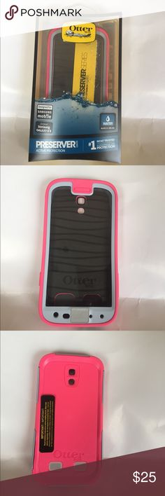 Otter Box for Samsung Galaxy S4 and black iPhone 6 Designed for Samsung mobile , S4 , and black for iPhone 6 Plus , water resistant , preserver active protection , #1 most trusted in smartphone case protection. New OtterBox Accessories Phone Cases