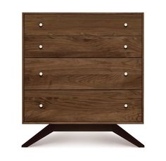 'Astrid 4 Drawer Dresser by Copeland Furniture. @2Modern'